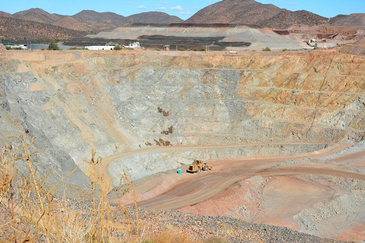 Clúster Minero de Sonora informa sobre paro de actividades en mina La Pitalla