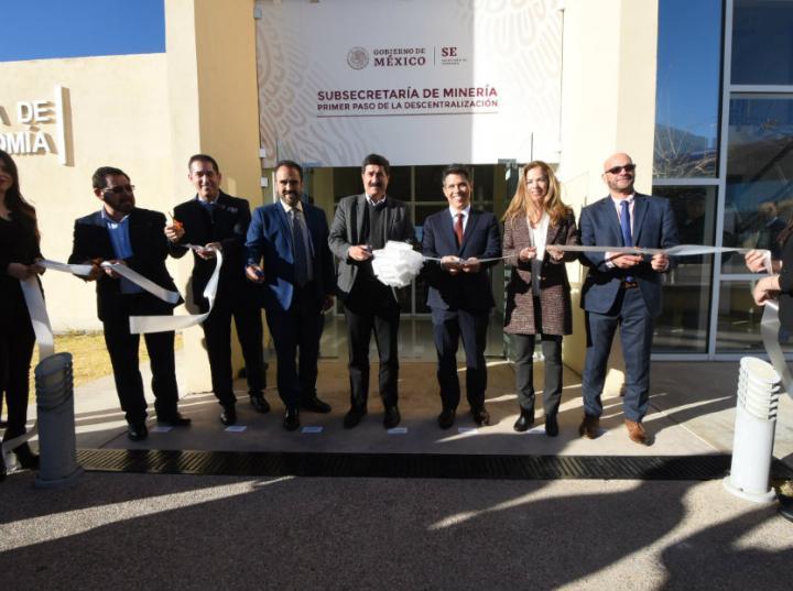 Inauguran subsecretaría de Minería en Chihuahua